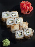 Ιαπωνικό ρύζι σουσιών Στοκ εικόνα με δικαίωμα ελεύθερης χρήσης