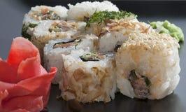 Ιαπωνικό ρύζι σουσιών στοκ φωτογραφία με δικαίωμα ελεύθερης χρήσης