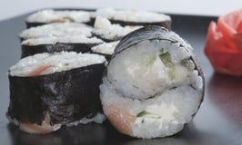 Ιαπωνικό ρύζι σουσιών yin-yang στοκ εικόνες με δικαίωμα ελεύθερης χρήσης