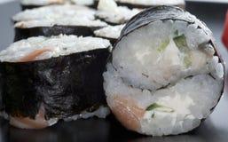 Ιαπωνικό ρύζι σουσιών yin-yang στοκ εικόνα με δικαίωμα ελεύθερης χρήσης