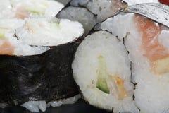 Ιαπωνικό ρύζι σουσιών yin-yang στοκ εικόνες