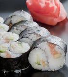 Ιαπωνικό ρύζι σουσιών yin-yang στοκ φωτογραφία με δικαίωμα ελεύθερης χρήσης
