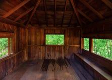 Ιαπωνικό σπίτι τρία εξέταση παραθύρων Στοκ εικόνα με δικαίωμα ελεύθερης χρήσης