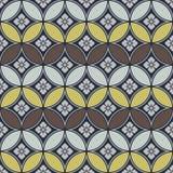 Ιαπωνικό σχέδιο κύκλων και λουλουδιών Στοκ φωτογραφία με δικαίωμα ελεύθερης χρήσης