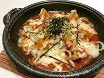 Ιαπωνικό σχέδιο τροφίμων στο διάστημα στοκ φωτογραφία με δικαίωμα ελεύθερης χρήσης