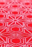 Ιαπωνικό σχέδιο του υφάσματος κιμονό Στοκ φωτογραφία με δικαίωμα ελεύθερης χρήσης