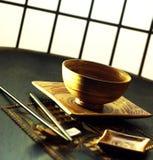 ιαπωνικό σύνολο στοκ εικόνες