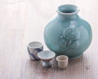 Ιαπωνικό σύνολο κατανάλωσης χάρης Στοκ Εικόνα
