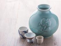 Ιαπωνικό σύνολο κατανάλωσης χάρης Στοκ εικόνες με δικαίωμα ελεύθερης χρήσης