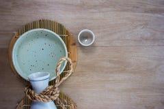 Ιαπωνικό σύνολο κατανάλωσης χάρης Στοκ Φωτογραφίες