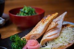 Ιαπωνικό σύνολο τροφίμων ύφους Στοκ Φωτογραφία
