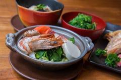 Ιαπωνικό σύνολο τροφίμων ύφους Στοκ φωτογραφίες με δικαίωμα ελεύθερης χρήσης