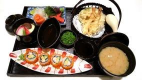 Ιαπωνικό σύνολο τροφίμων Στοκ Εικόνα