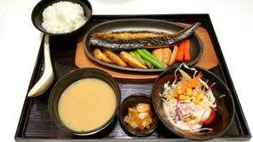 Ιαπωνικό σύνολο τροφίμων Στοκ Φωτογραφίες