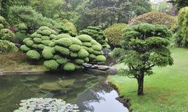 Ιαπωνικό τοπίο κήπων τσαγιού στο χρυσό πάρκο πυλών, Σαν Φρανσίσκο, Καλιφόρνια Στοκ φωτογραφία με δικαίωμα ελεύθερης χρήσης