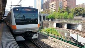 Ιαπωνικό τραίνο  ChÅ «Å Στοκ φωτογραφία με δικαίωμα ελεύθερης χρήσης