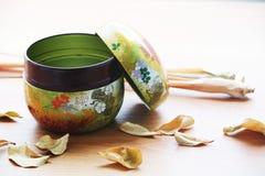 ιαπωνικό τσάι Στοκ Εικόνες