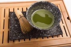 Ιαπωνικό τσάι Matcha Στοκ φωτογραφία με δικαίωμα ελεύθερης χρήσης