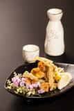 Ιαπωνικό υλικό τροφίμων Στοκ Φωτογραφίες