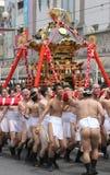 Ιαπωνικό φεστιβάλ στο Kagoshima στοκ εικόνες