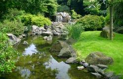 ιαπωνικό ύδωρ κήπων Στοκ Φωτογραφία