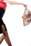 ιαπωνικό ύφος ποδιών ανεμιστήρων στοκ εικόνα με δικαίωμα ελεύθερης χρήσης