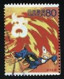 Ιαπωνικό Anime Στοκ Εικόνα