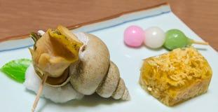 Ιαπωνικό Baigai, ή ελεφαντόδοντο Shell στοκ φωτογραφία με δικαίωμα ελεύθερης χρήσης