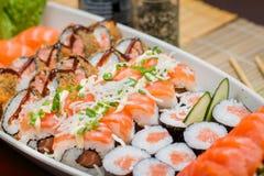 Ιαπωνικό combo τροφίμων Στοκ φωτογραφία με δικαίωμα ελεύθερης χρήσης
