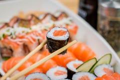 Ιαπωνικό combo τροφίμων Στοκ Φωτογραφίες