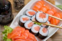 Ιαπωνικό combo τροφίμων Στοκ Εικόνες