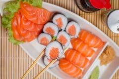 Ιαπωνικό combo τροφίμων Στοκ Φωτογραφία