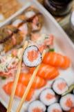 Ιαπωνικό combo τροφίμων Στοκ φωτογραφίες με δικαίωμα ελεύθερης χρήσης