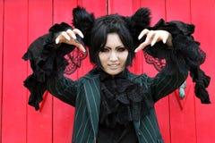 Ιαπωνικό cosplay κορίτσι χαρακτήρα anime Στοκ εικόνες με δικαίωμα ελεύθερης χρήσης