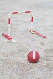Ιαπωνικό gateball Στοκ φωτογραφία με δικαίωμα ελεύθερης χρήσης
