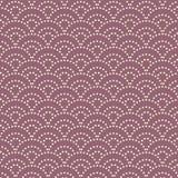 Ιαπωνικό lavender σχέδιο κυμάτων θάλασσας σημείων Στοκ φωτογραφία με δικαίωμα ελεύθερης χρήσης