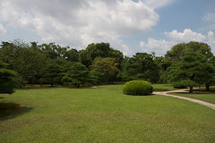 ιαπωνικό nijojo του Κιότο κήπων Στοκ φωτογραφία με δικαίωμα ελεύθερης χρήσης