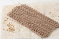 ιαπωνικό noodles soba στοκ εικόνες με δικαίωμα ελεύθερης χρήσης