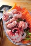 Ιαπωνικό sashimi platter στοκ εικόνες