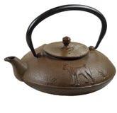 ιαπωνικό teapot χυτοσιδήρου tetsuin Στοκ εικόνες με δικαίωμα ελεύθερης χρήσης