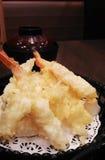 ιαπωνικό tempura γαρίδων κουζίν&alp στοκ εικόνες