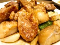 Ιαπωνικό teppanyaki Στοκ Φωτογραφία