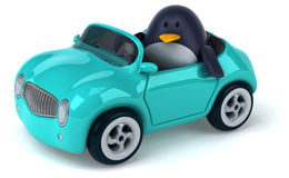 Διασκέδαση penguin Στοκ Εικόνες