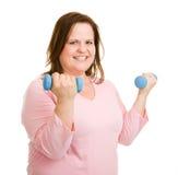 διασκέδαση workout Στοκ Εικόνες