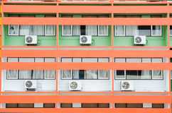 διασπασμένο σύστημα απεικόνισης κλιματιστικών μηχανημάτων Στοκ Εικόνες