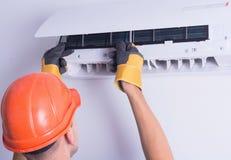 διασπασμένο σύστημα απεικόνισης κλιματιστικών μηχανημάτων Στοκ Φωτογραφίες