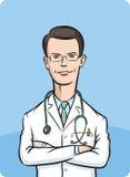διασχισμένος όπλα γιατρόσ ελεύθερη απεικόνιση δικαιώματος