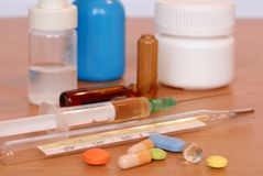 ιατρικά αντικείμενα στοκ φωτογραφία