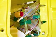 Ιατρικά απόβλητα Στοκ φωτογραφία με δικαίωμα ελεύθερης χρήσης
