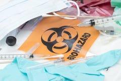 Ιατρικά απόβλητα Στοκ εικόνα με δικαίωμα ελεύθερης χρήσης